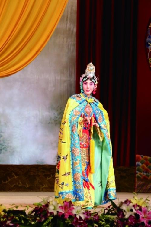 京剧《霸王别姬》在上海大剧院上演