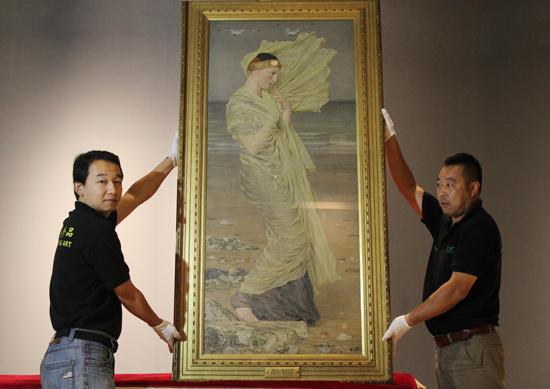 """""""走向现代——英国美术300年""""展 - 及时渔、及时语 - 及时渔的空间"""