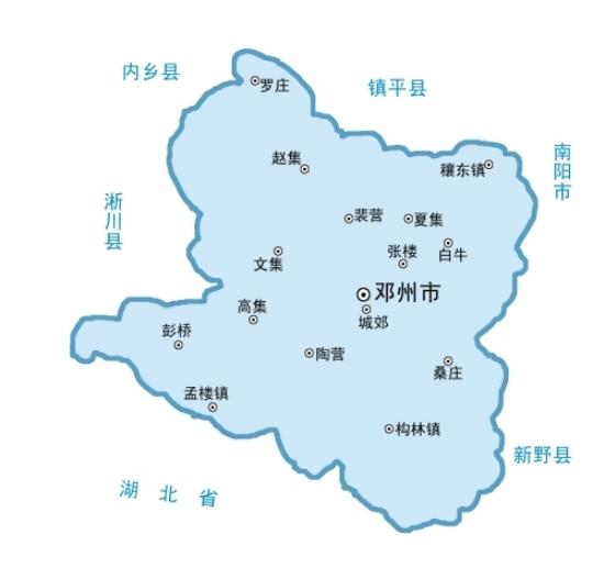 """""""豫地密码・省直管县""""之邓州(一)"""