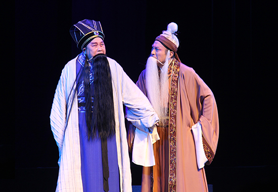 豫剧《程婴救孤》在首都长安大戏院震撼上演