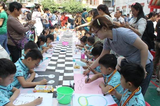 省文化厅艺术幼儿园举办庆 六一 系列活动