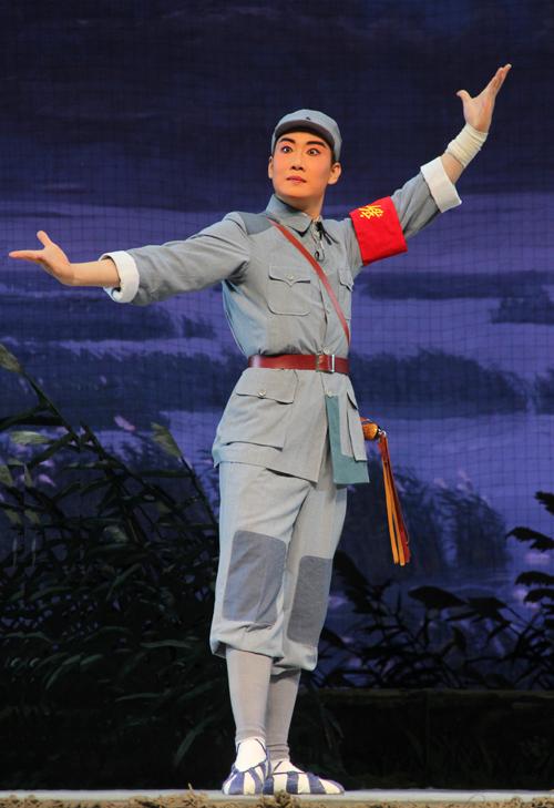 红色经典京剧《沙家浜》郑州演出庆抗战胜利