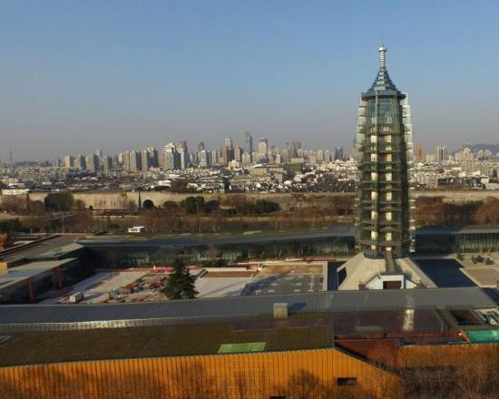 南京琉璃塔复原图