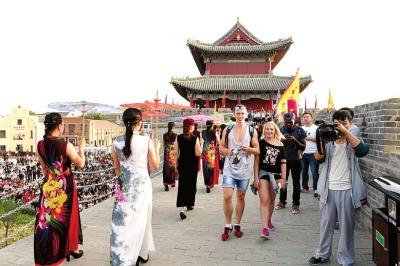 浚县喊您来游魅力古城、逛千年庙会、赏中原民俗